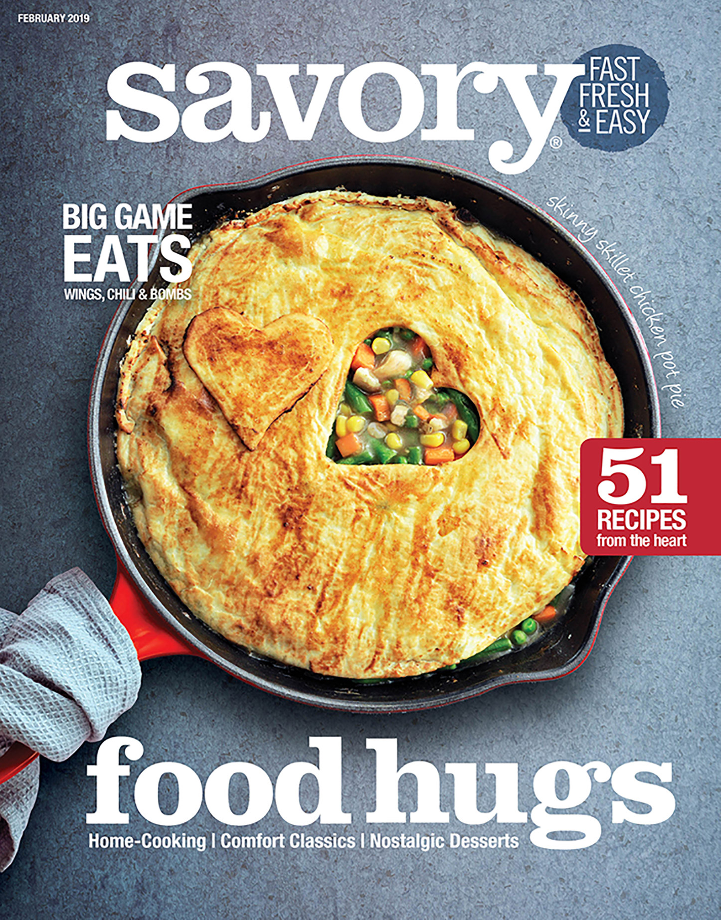 Savory: Fast, Fresh & Easy® Magazine